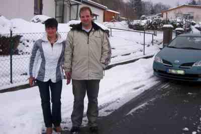 im Winter in den Harz