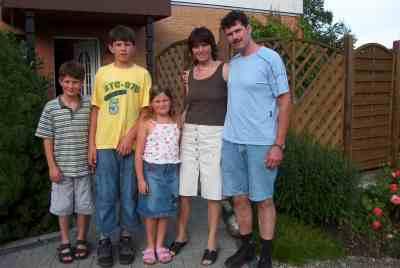 eine sehr nette Familie
