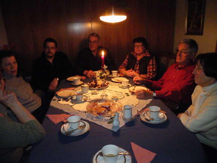 Weihnachten mit Familie P. aus Kerpen und Famile T. aus Leipzig