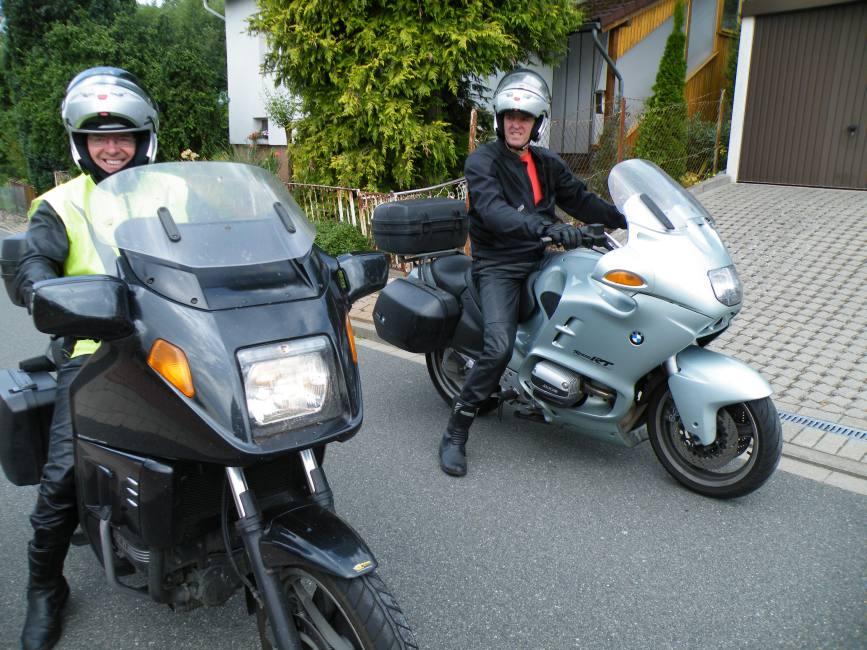 Henk und Dirk aus Vollenhove / NL lieben den 1000-Kurven-Harz