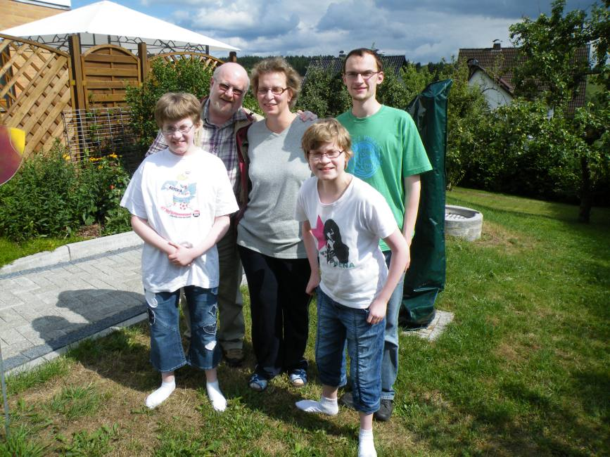 Familie V. aus Altenbeken zum wiederhokten Mal