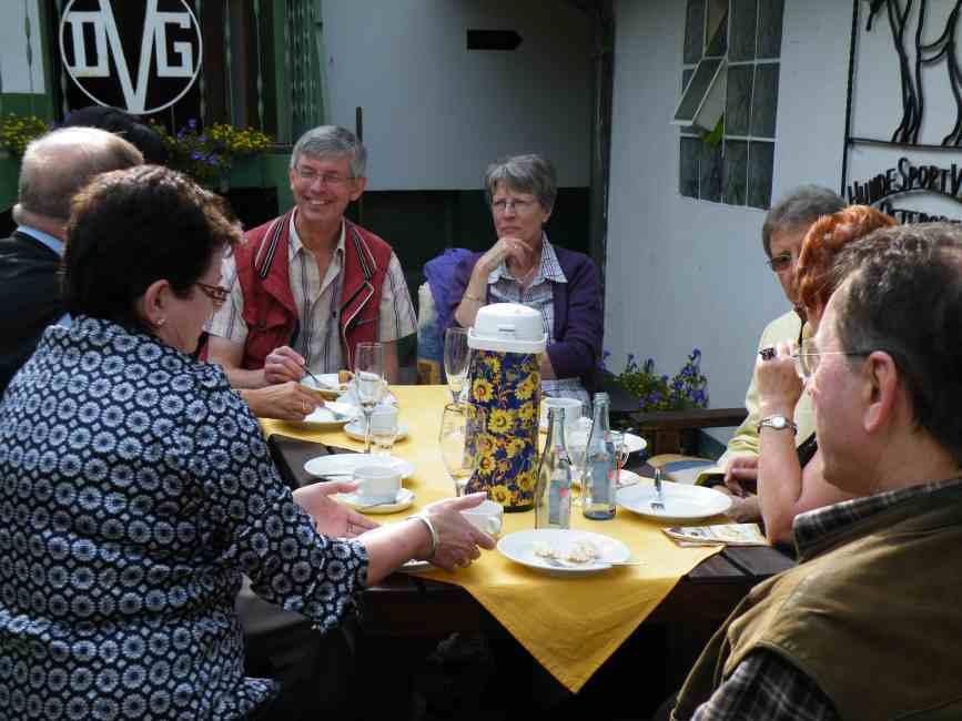 Familie van K. aus Oegstgeest / NL in netter Runde