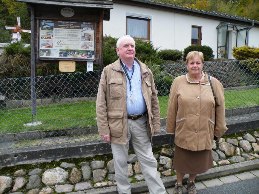 Familie B aus Maastricht besuchen ihre Harzer Verwandten