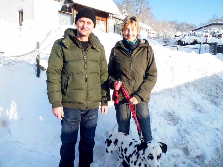 Familie N. aus Kuhstorf auf Weihnachtsurlaub