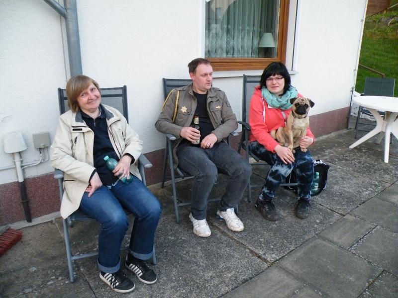 Kurt war heute auf dem Brocken und genießt mit Sch. und H. aus Chemnitz die letzten Sonnenstrahlen