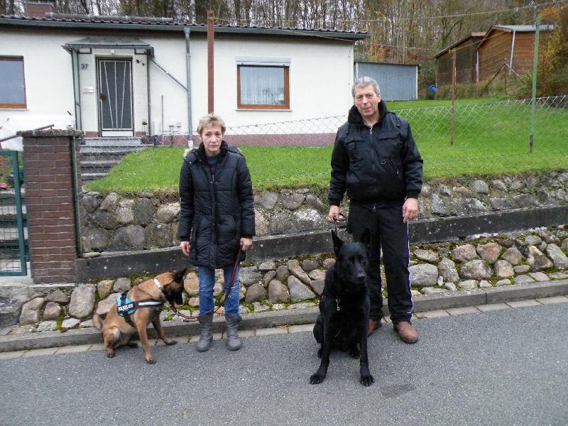 Familie S. aus Düsseldorf mit ihren beiden Fellnasen zu Gast