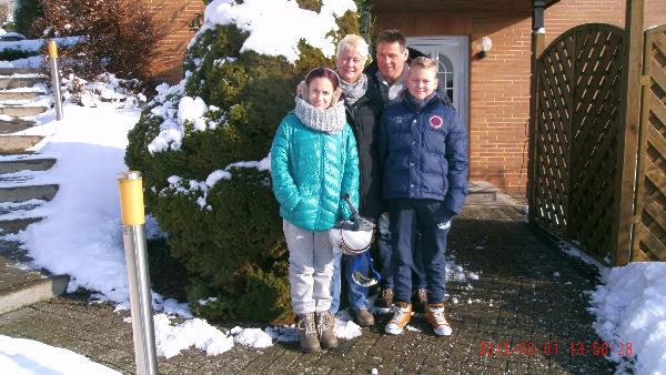 Ski und Rodeln sehr gut. Familie Sch. aus Langwedel nutzt die Zeugnisferien