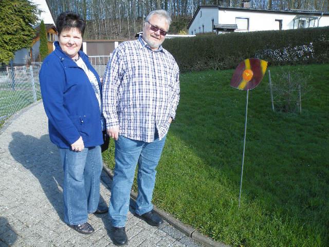 Familie R. aus Saarbrücken auf den Spuren der Vergangenheit