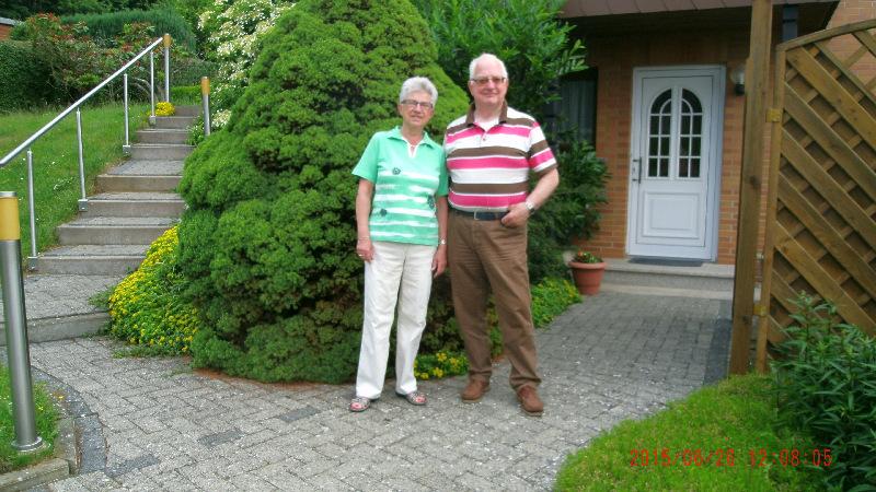 Familie de Beer aus den NL auf Stipvisite im Harz