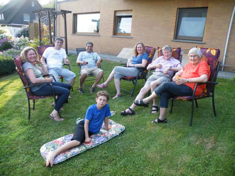 Familientreffen mit den Kindern auch Kalifornien (USA)