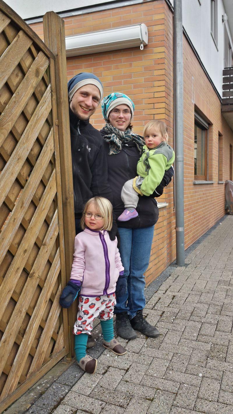 Familie H. aus Markkleeberg hat mit ihren Kindern -  dieses mal im Feb. 2018