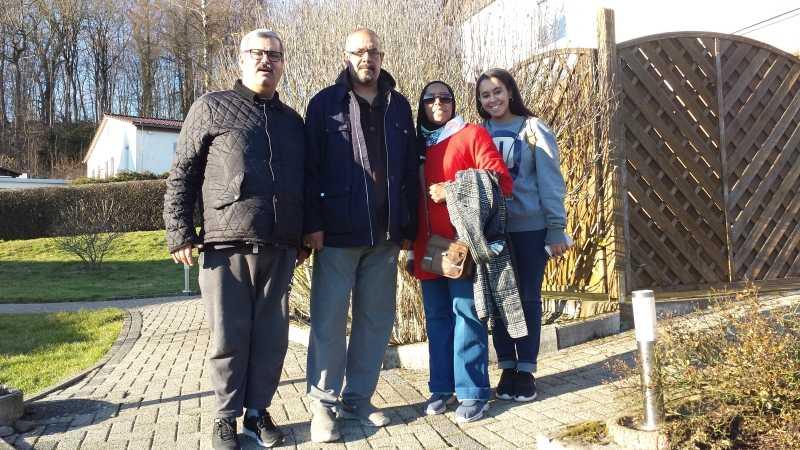 Familie A. aus Kuwait zu Besuch bei Freunden im Harz
