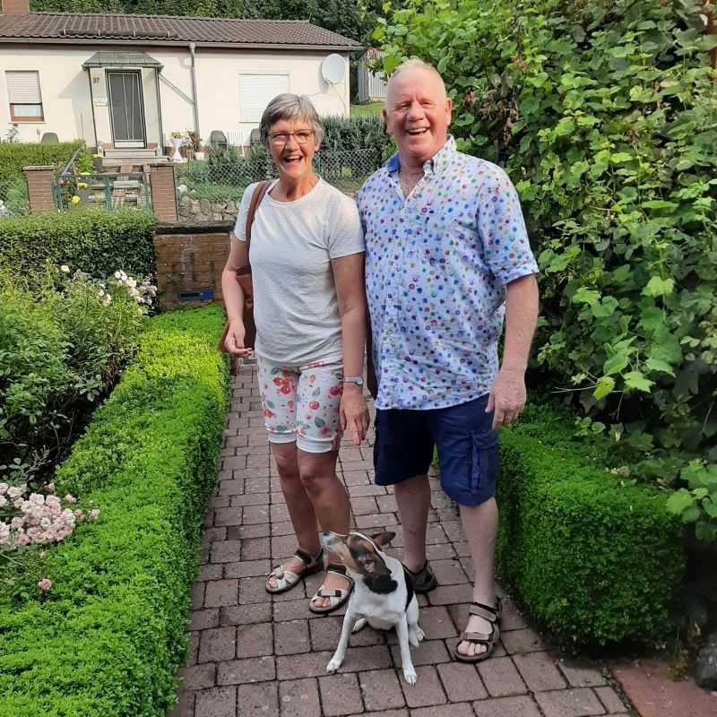 Joze und Rini M. aus NL haben ihren Urlaub genossen