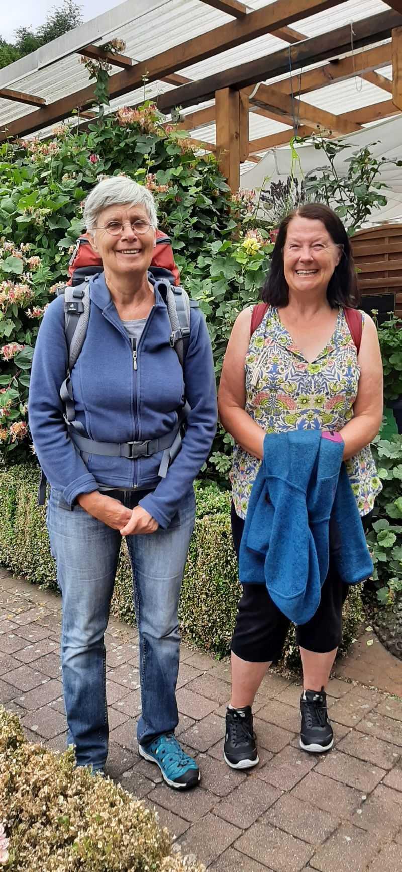 Sehr liebe Wanderschwestern verabschieden sich bis zum nächsten Jahr